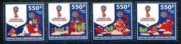 ZAR 2018 FIFA WORLD CUP FOOTBALL SOCCER RUSSIA 2018 SET MNH - World Cup