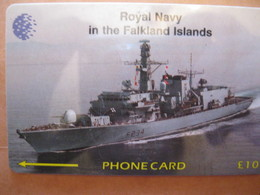 "Télécarte Des Falkand "" Bateau "" - Falkland Islands"