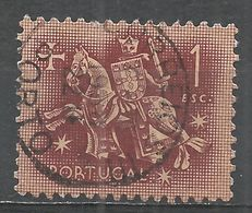 Portugal 1953. Scott #766 (U) Equestrian Seal Of King Diniz - 1910-... République