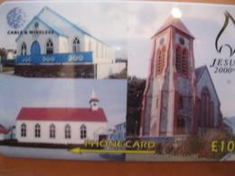 "Télécarte Des Falkand "" Eglise "" - Falkland Islands"