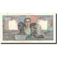 France, 5000 Francs, 1947-01-09, SUP, Fayette:47.55, KM:103c - 1871-1952 Anciens Francs Circulés Au XXème