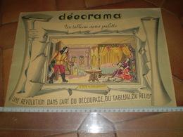 Décorama Volumétrix, La Belle Au Bois Dormant; Tableau En Relief Par Découpage, Voir Les 2 Scans - Planches & Plans Techniques