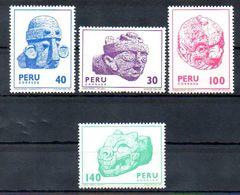 PERU,1981,Antique Cultur,1188/91 Mint - Peru