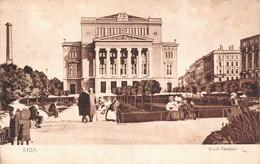 Lettonie - Riga - Stadt Theater - Lettonie