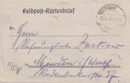 Feldpost WW1: Infanterie Regiment 398 P/m 16.5.1918 - Letter Inside. Fighting North Of Ailette  (G89-5) - Militaria