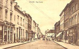 Wavre - Rue Haute (animée, Edit. Junion-Dresse 1924) - Waver