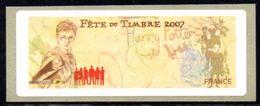 France, 2007. Vignette Fête Du Timbre 2007, Harry Potter. Sans Valeur Imprimée. - Francia
