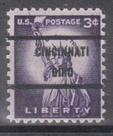 USA Precancel Vorausentwertung Preo, Bureau Ohio, Cincinnati 1035-71a (OIH) - Vereinigte Staaten