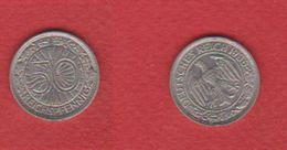 Allemagne  /  50 Reichspfennig 1936 A / TTB - [ 4] 1933-1945 : Third Reich