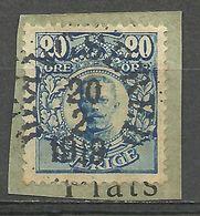 Sweden Scott 83 Used On Paper From 1911 (161) - Oblitérés