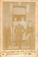 Yernawe - Carte Photo Famille Animée 1911 - Saint-Georges-sur-Meuse