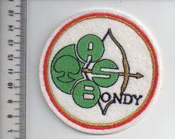 REF 10 : Écusson Patch Thème TIR A L'ARC Archerie Archer BONDY - Tir à L'Arc