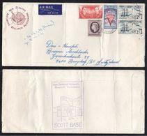 ROSS DEPENDENCY / 1971 AIRMAIL COVER TO SWITZERLAND (ref 5373) - Dépendance De Ross (Nouvelle Zélande)