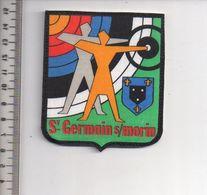 REF 10 : Écusson Patch Thème TIR A L'ARC Archerie Archer Arc Club St Germain Sur Morin - Tir à L'Arc