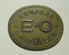 Token * Esbjerg Omnibiler - Tokens & Medals