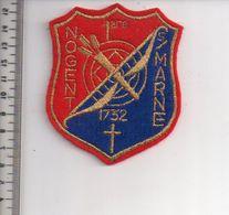 REF 10 : Écusson Patch Thème TIR A L'ARC Archerie Archer Arc Club NOGENT SUR MARNE - Tiro Al Arco