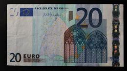 EURO . 20 Euro 2002 Draghi R023 L Finland - EURO