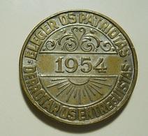 Medal (25mm) Tiradentes * 1954 - Tokens & Medals