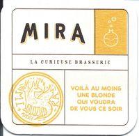 33 - ARCACHON - Sous-bock BIERE MIRA - Beer Mats
