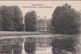 Wijnegem Wyneghem Chateau Belvedere Kasteel 1921 (Licht Kreukje) - Wijnegem