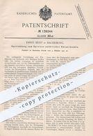 Original Patent - Ernst Beist , Magdeburg , 1901 , Vorrichtung Zum Spreizen Natürlicher Körperkanäle   Arzt , Medizin ! - Historische Dokumente