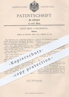 Original Patent - Ernst Beist , Magdeburg , 1901 , Dilatator Zum Spreizen Natürlicher Körperkanäle   Arzt , Medizin ! - Historische Dokumente