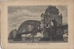 Allemagne - Düsseldorf - Rheinbrücke - Eau-Forte - Gravure - Duesseldorf
