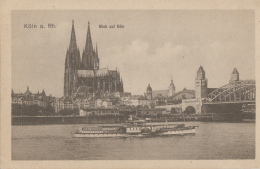 Allemagne - Koeln Köln - Bâteau Vapeur - Pont - Ville - Koeln