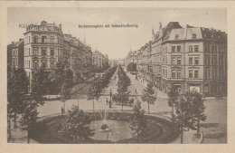 Allemagne - Koeln Köln - Barbarossaplatz Mit Hohenstaufenring - Köln