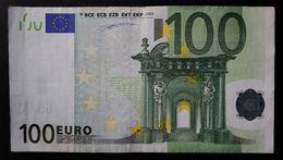 EURO . 100 Euro 2002 Duisenberg M001 V Spain - 100 Euro