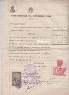 Regno 1939 Consiglio Provinciale Delle Corporazioni - 1900-44 Vittorio Emanuele III