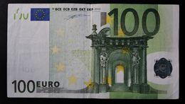 EURO . 100 Euro 2002 Duisenberg D002 L Finland - EURO