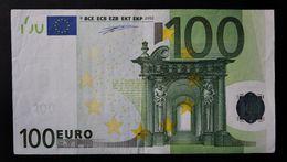 EURO . 100 Euro 2002 Duisenberg F002 N Austria - EURO