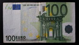 EURO . 100 Euro 2002 Duisenberg F001 N Austria - EURO