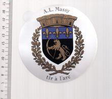 REF 10 : Autocollant Sticker Thème TIR A L'ARC Archerie Archer Compagnie Club Massy - Archery