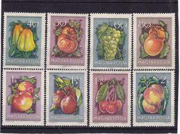 #8354 Hungary 1954 Full Set  MNH Michel 1387 - 94: Fruits - Hungary