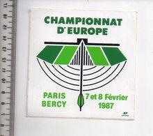 REF 10 : Autocollant Sticker Thème TIR A L'ARC Archerie Archer Compagnie Paris Bercy - Tir à L'Arc