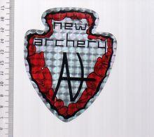 REF 10 : Autocollant Sticker Thème TIR A L'ARC Archerie Archer Compagnie New Archery - Tir à L'Arc