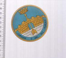 REF 10 : Autocollant Sticker Thème TIR A L'ARC Archerie Archer Compagnie Les Mureaux - Archery