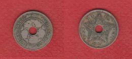 Congo Belge   / KM 18 /  10 Centimes  1921  / TB - Congo (Belgian) & Ruanda-Urundi