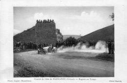 CPA, Course De Cote De MARSANNE (Drôme) - Bugatti Au Virage. Cliché Bastide. Edition Joguet. Non Circulée. TB état. - Sport Automobile