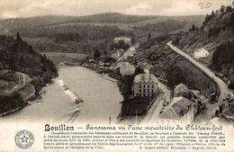 BELGIQUE BOUILLON PANORAMA VU D'UNE MEURTRIERE DU CHATEAU-FORT - Bouillon