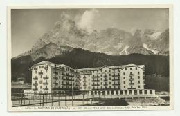 S.MARTINO DI CASTROZZA - GRAND HOTEL DELLE ALPI COL CIMIN DELLA PALA - VIAGGIATA FP - Trento