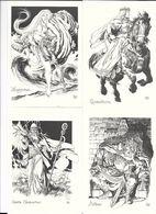 Les Héros De La Table Ronde - Par J.Y. MITTON  ( Roi Arthur - Les Chevaliers -Merlin , Les Féees ,..) - Illustrateurs & Photographes