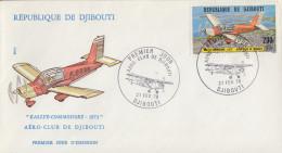 Enveloppe  FDC  1er  Jour    REPUBLIQUE   De   DJIBOUTI   Aéro - Club  De  DJIBOUTI   1978 - Djibouti (1977-...)
