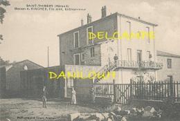 34 // SAINT THIBERY   Maison A Kincher, Fils Ainé, Entrepreneur - Frankreich