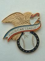 PIN'S BASEBALL - AMERICAN LEAGUE - AIGLE - Baseball