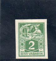 ESTONIE 1922-5 * - Estonie