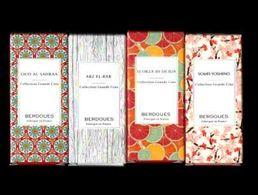 Tube Sur Carte Echantillon  4 Différents BERDOUES  Eau De Parfum 2 ML - Perfume Samples (testers)