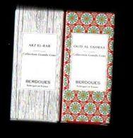 Tube Sur Carte Echantillon  2 Différents BERDOUES  Eau De Parfum 2 ML - Perfume Samples (testers)